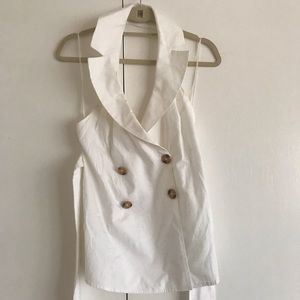 C/MEO Collective White Shirt